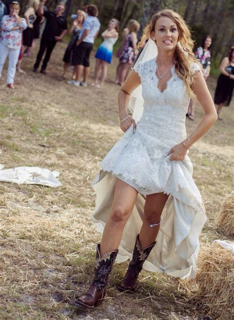 sexy country western high  white lace cap sleeve