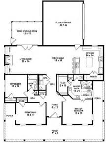 3 bedroom 2 bath house plans 653881 3 bedroom 2 bath southern style house plan with wrap around porch house plans floor