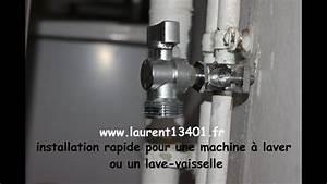 Mini Machine À Laver Sans Arrivée D Eau : installation rapide d une prise d eau froide avec un minimum d outils youtube ~ Melissatoandfro.com Idées de Décoration