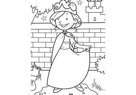 Kleurplaat Kasteel Prinses by Kleurplaat Prinses Kasteeltuin Kleurplaten Prinses
