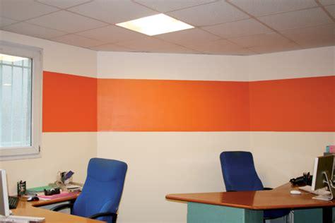 bannettes bureau déco bureau orange