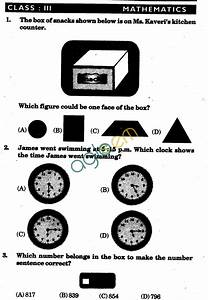 Nstse 2009 Solved Question Paper For Class Iii
