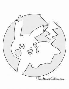 pokemon pikachu stencil 04 free stencil gallery With pokemon templates print