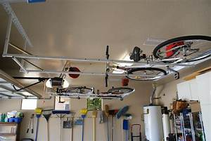 Flat Bike Lift : double motorized bike lift flat on ceiling strong racks ~ Sanjose-hotels-ca.com Haus und Dekorationen