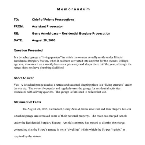 cover memo template   word  documents