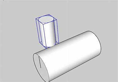 Views Accurately Placing Component Cylinder Sketchup Kb