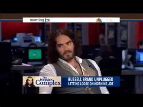 russell brand on morning joe russell brand morning joe msnbc talk show host full youtube