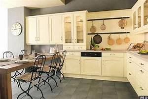repeindre des meubles de cuisine rustique peindre un With meuble de cuisine rustique