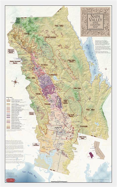 Best Napa Wine Napa Valley Wine Map Best Napa Valley Wine Map