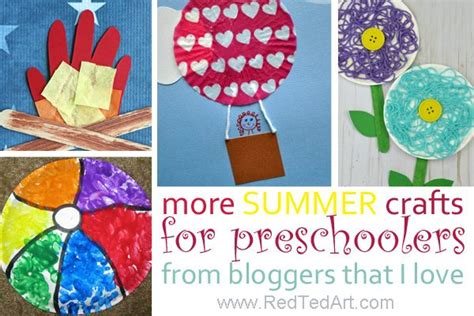47 summer crafts for preschoolers to make this summer 414 | More Summer Crafts For Preschoolers From Bloggers That I Love 600x400