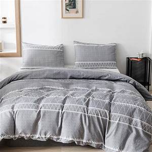 3, Pcs, Comforter, Geometric, Lines, Pattern, Printed, Bed
