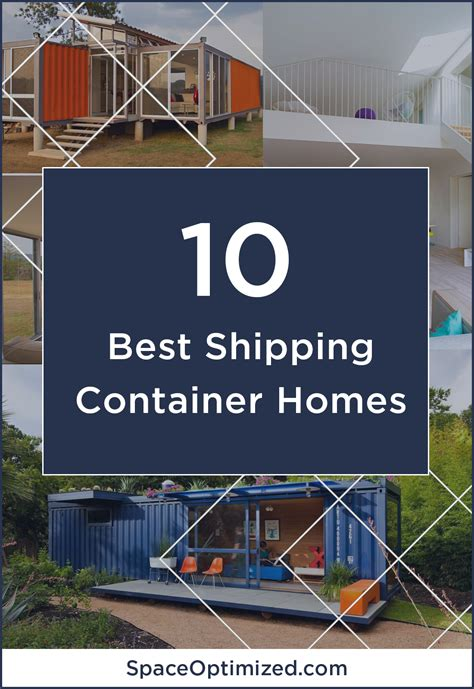 Tiny Home Living Top 10 Beautiful Shipping Container