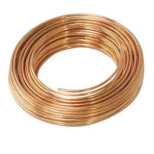 22 Gauge Copper Hobby Wire 75 Ft. 1 Roll