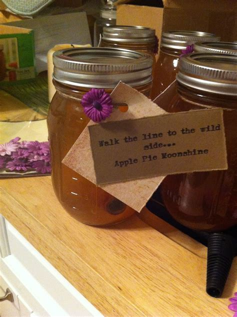 Apple Pie Moonshine Wedding Favor Oh Yes This Is What