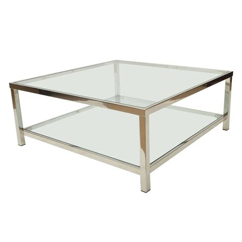 Couchtisch Chrom Glas by 30 The Best Glass Square Coffee Tables