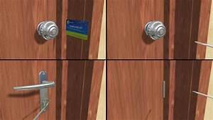 Comment Changer Un Barillet De Porte Fermée : comment ouvrir une porte ferm e clef 11 tapes ~ Melissatoandfro.com Idées de Décoration