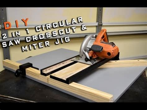 2 In 1 Circular Saw Crosscut & Miter Jig  Limited Tools