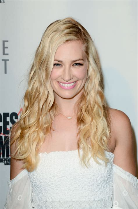 Beth Behrs Antiquities Premiere
