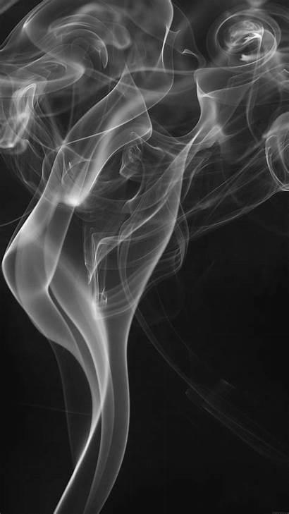 Smoke Dark Smoky Texture Pattern Vi49 Bw