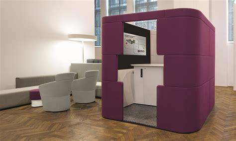 cabine bureau cabine de bureau acoustique avec éclairage intégré pour