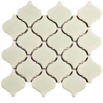 lantern tile lantern arabesque mosaic tile tile the home depot