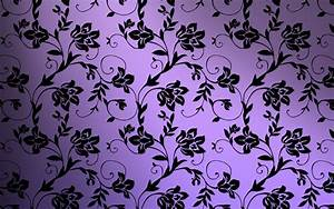 10+ Purple Floral Wallpapers   Floral Patterns   FreeCreatives