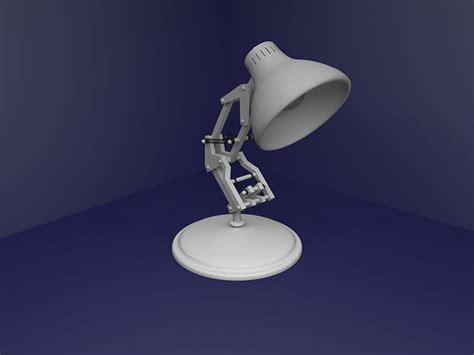 lampara de pixar projecto  blender  cgtrader