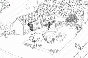 Un coloriage geant pour les enfants hello june for Dessin maison en ligne 12 organiser son potager