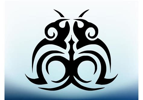 tribal tattoo image   vector art stock graphics images
