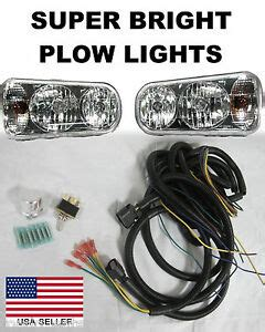 Bos Plow Wiring Kit by Hiniker Snow Plow Ebay