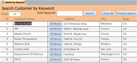 create base templates for multiple create search form using vba ms access iaccessworld