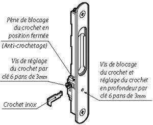 crochet fermeture porte crochet de fermeture de porte l 39 ancienne fermeture fermoir crochet