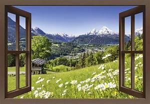 Blick Aus Dem Fenster Poster : jfl photography fensterblick malerische landschaft in den bayerischen alpen deutschland ~ Markanthonyermac.com Haus und Dekorationen