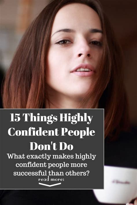 What exactly makes highly confident people more successful ...