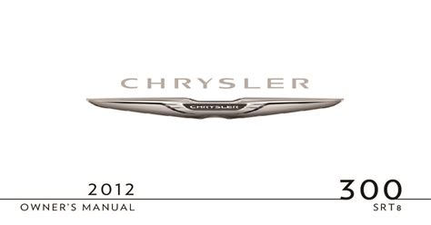 chrysler  srt owners manual  give