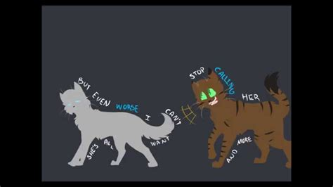 tiger hearts trouble warrior cats youtube