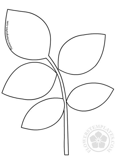 Imprimir De Para Gigantes Para Hojas Moldes Flores