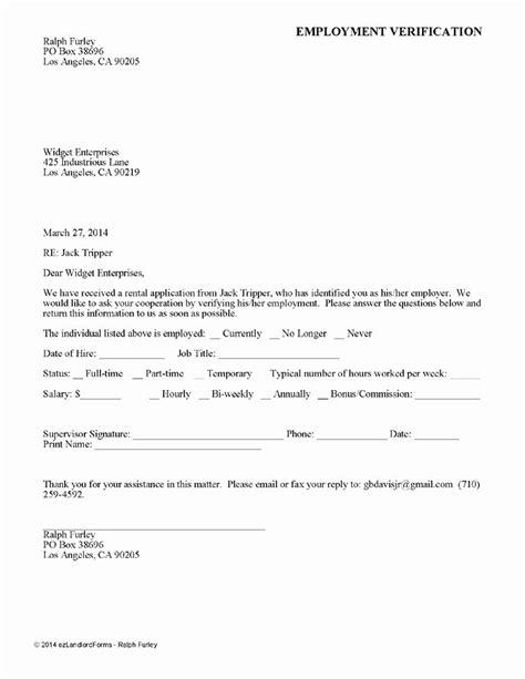 landlord verification form template beautiful printable