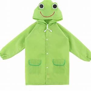 2016 Cartoon Waterproof Kids Rain Coat For Children ...