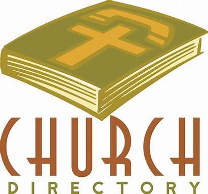 Directory Clipart Church Telephone Parish Clip Directories