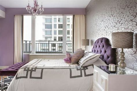 inspirational purple bedroom designs ideas hative