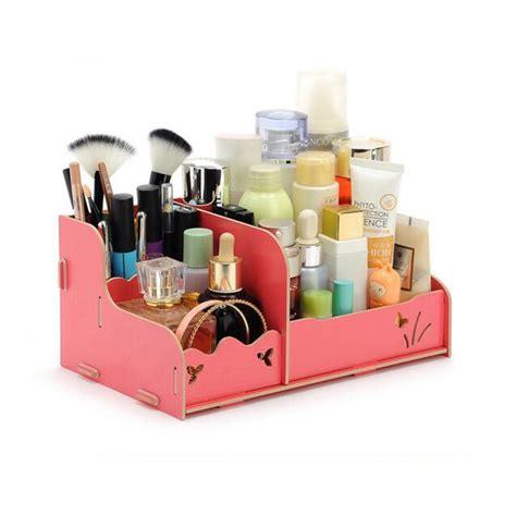Rak Kosmetik Shopee rak kosmetik bahan kayu tempat make up kutek rak