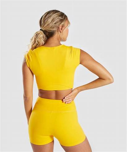 Gymshark Clothes Workout Gym Yellow Outfit Outfits