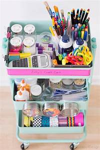 How to organize your slime supplies | Cuckoo4Design