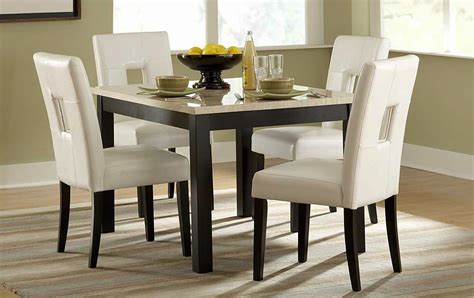 Kitchen Table Sets by Archstone Marble Top Kitchen Table Set