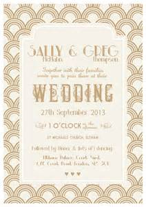 gatsby wedding invitations the great gatsby 20 s wedding theme papergrace