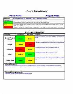 executive summary project status report template - 5 project status report template teknoswitch