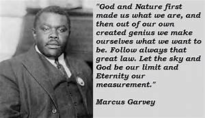 Marcus garvey f... Marcus Crassus Famous Quotes