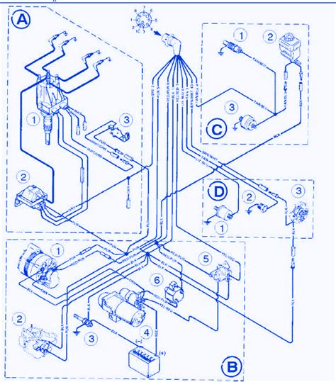 bayliner capri ls  electrical circuit wiring diagram carfusebox