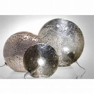 Lampe A Poser : lampe poser angel des montagnes boule fusion en verre ~ Nature-et-papiers.com Idées de Décoration